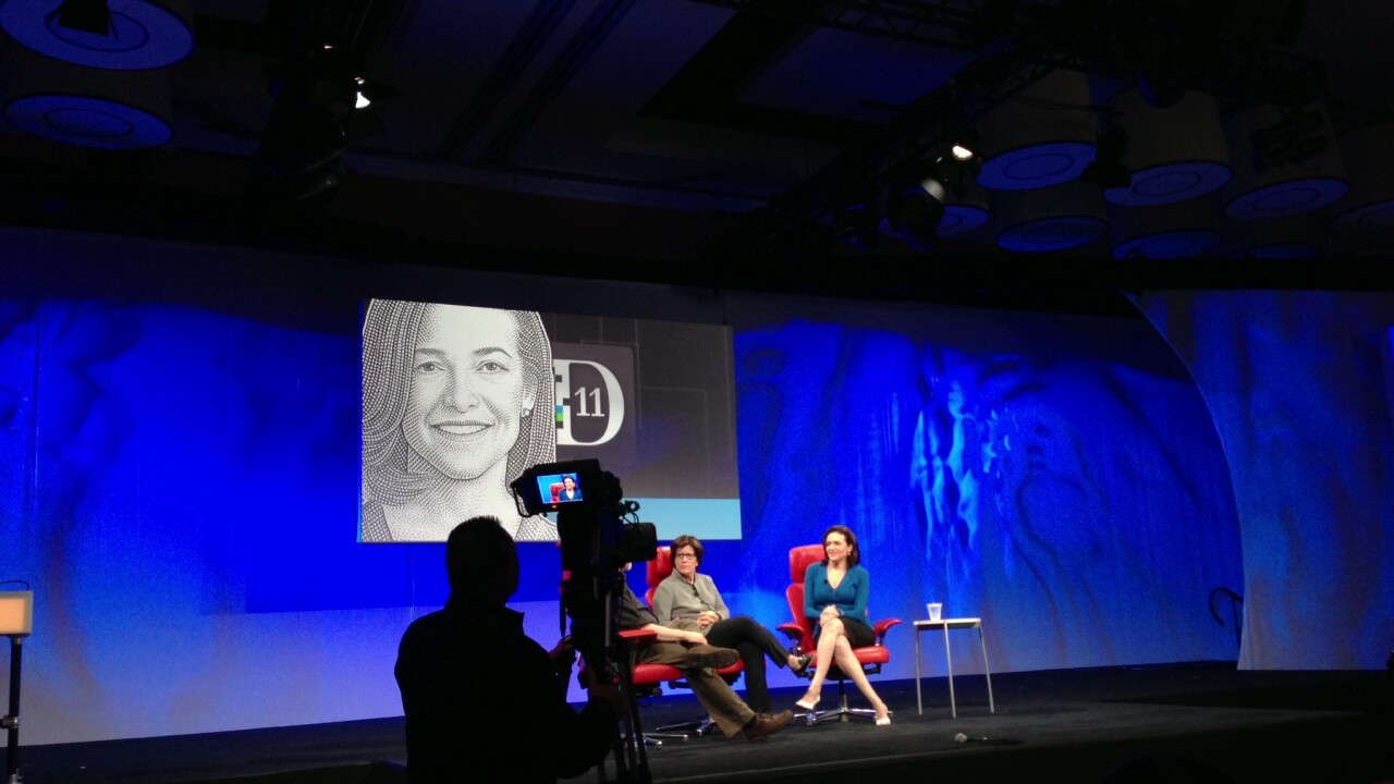 Facebook COO Sheryl Sandberg on women in tech, teens on Facebook and the Instagram purchase