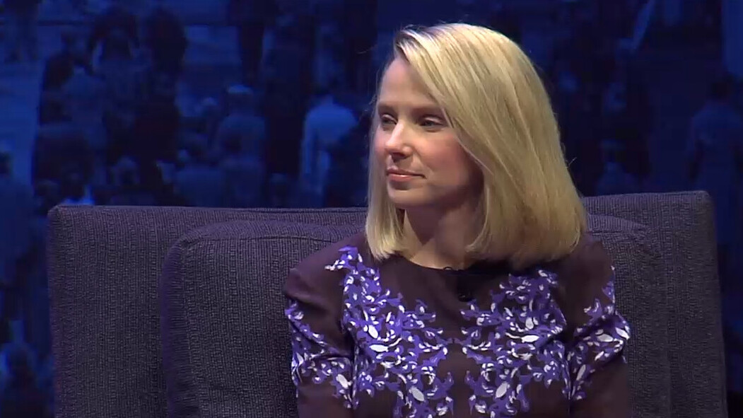 Yahoo's Marissa Mayer says most of the innovation in search will happen in user interface and voice