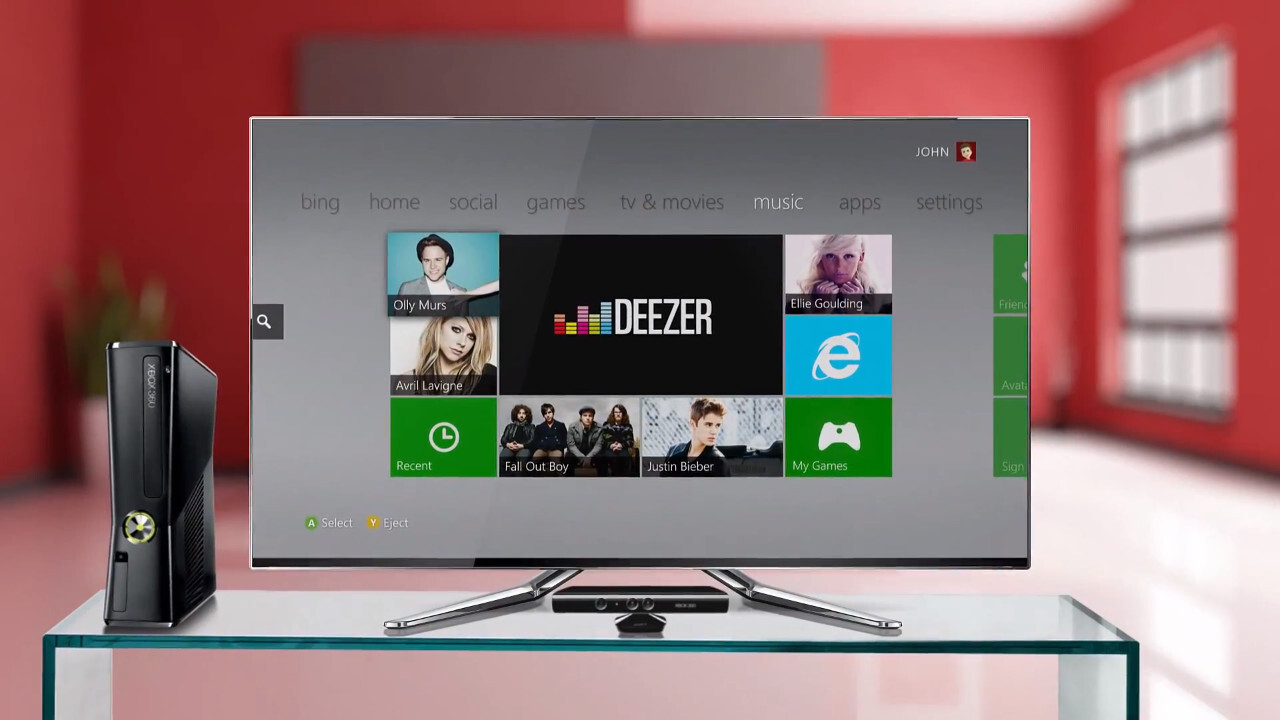 Deezer launches Xbox 360 app for its on-demand music streaming service to combat Xbox Music