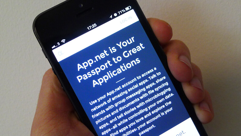 Developer-friendly Twitter alternative App.net hits 100,000 registered users, 9 months after launch