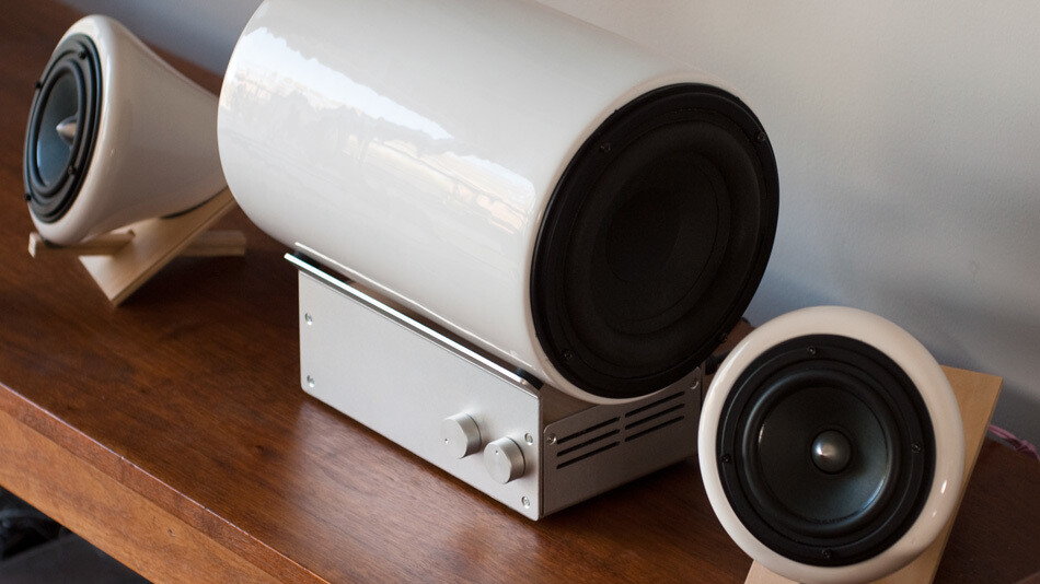 """These $1,000 ceramic speakers from Joey Roth are the """"anti-Jambox"""" approach"""