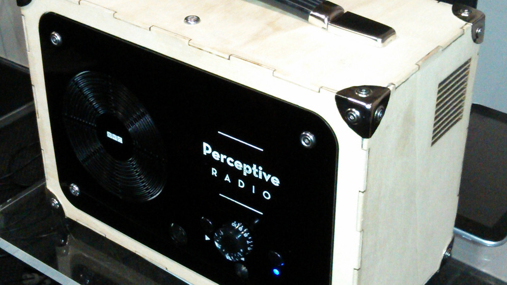 The BBC unveils an experimental 'Perceptive Radio' that offers personalized content