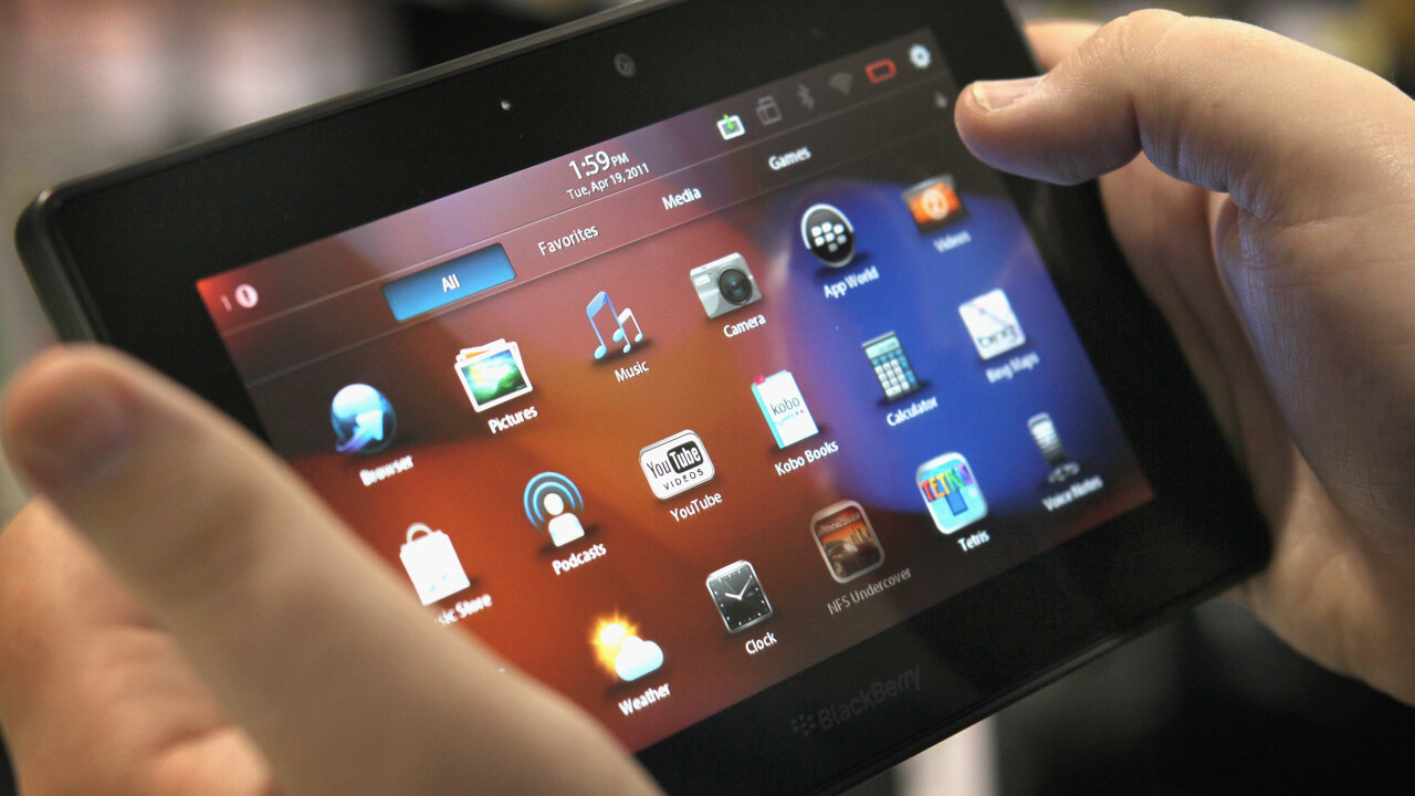 BlackBerry CEO killed off BlackBerry 10 plans for PlayBook because he wasn't satisfied with it