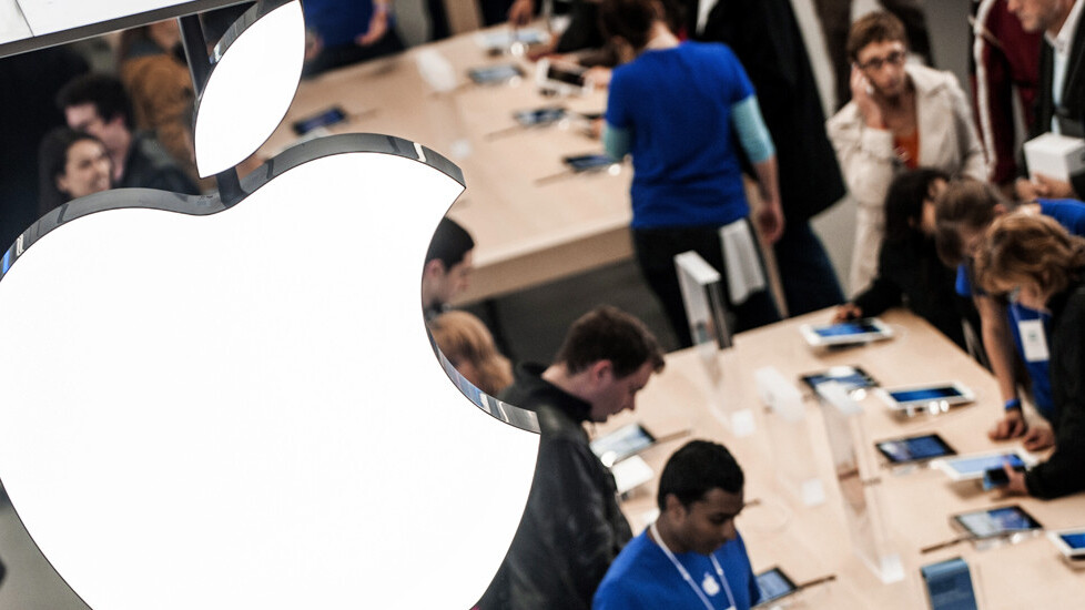 Apple's retail stores bring in 1 million daily visitors to its 400 locations in 14 countries