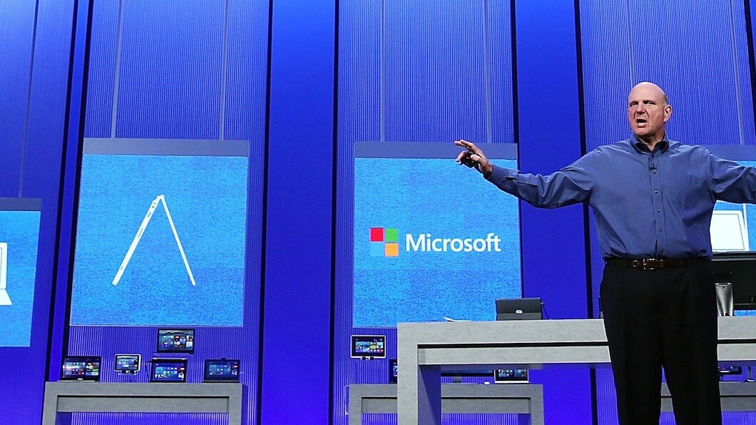 Microsoft's Ballmer says small tablets aren't PCs
