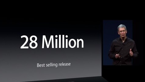 Apple sells 28 million copies of OS X Mountain Lion, says 35% of Mac users are on it