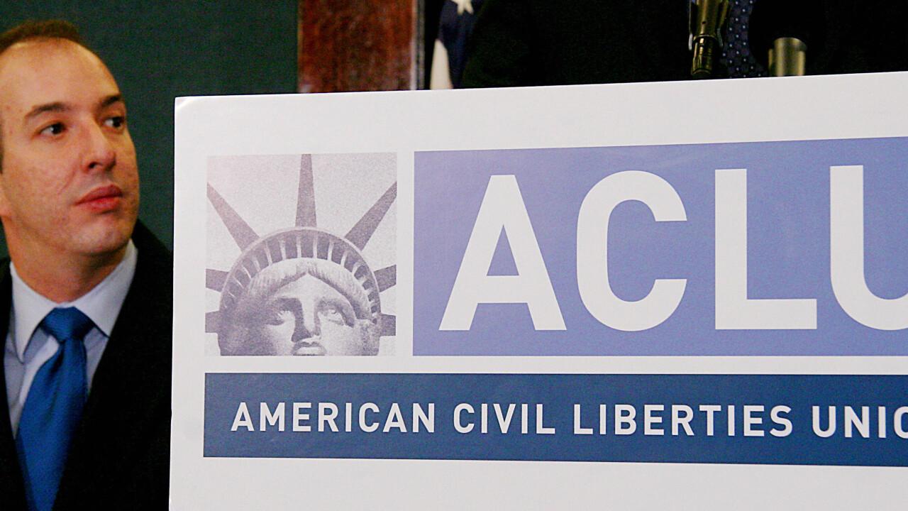 The ACLU files suit against the NSA's phone records program, alleging constitutional infringement