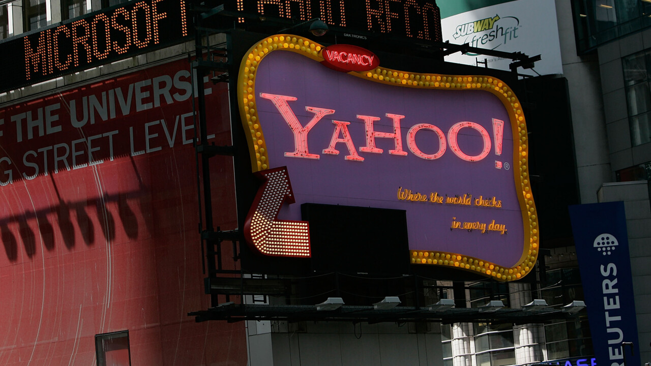 Yahoo gives its search pages in the US a slimmer navigation bar, making room for more results