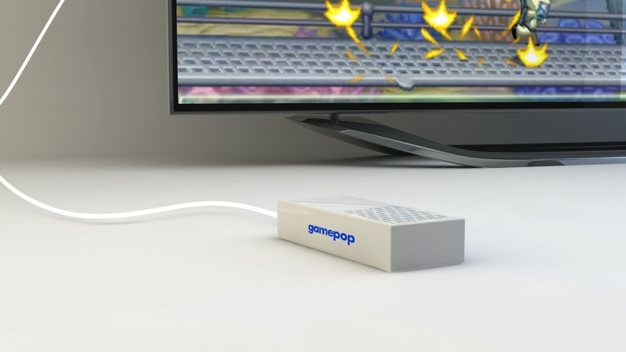 GamePop Mini: a 'free' Android gaming console that comes with a monthly games subscription