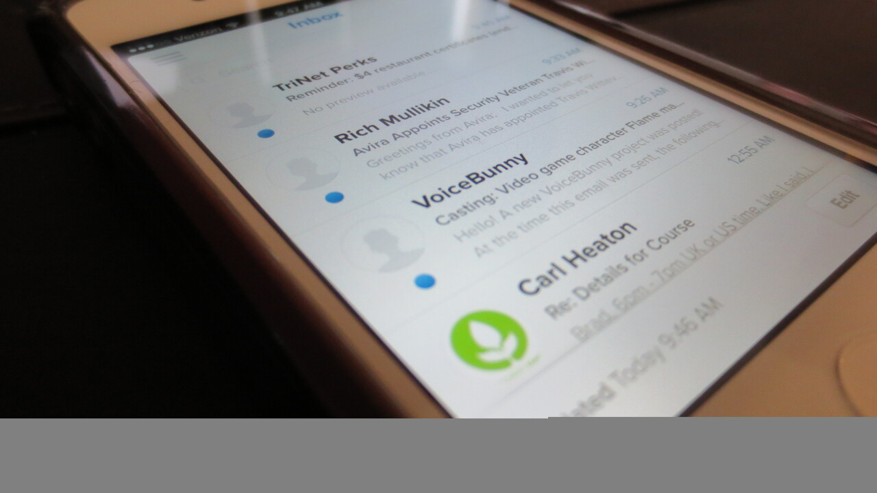 Evomail brings its gorgeous email client to the iPhone and it's now available for free