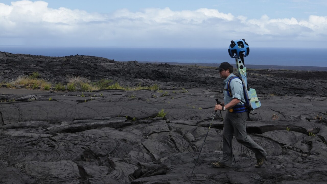Google starts letting organizations borrow its Street View Trekker to record imagery for Maps