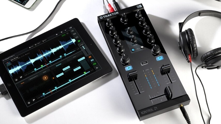 Native Instruments debuts the Kontrol Z1 – A 2-channel DJ mixer for your iOS devices