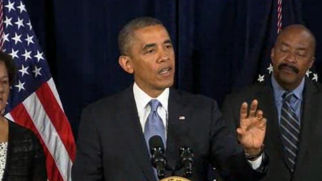 """President Obama says PRISM """"does not apply to U.S. citizens"""" or people living the U.S."""