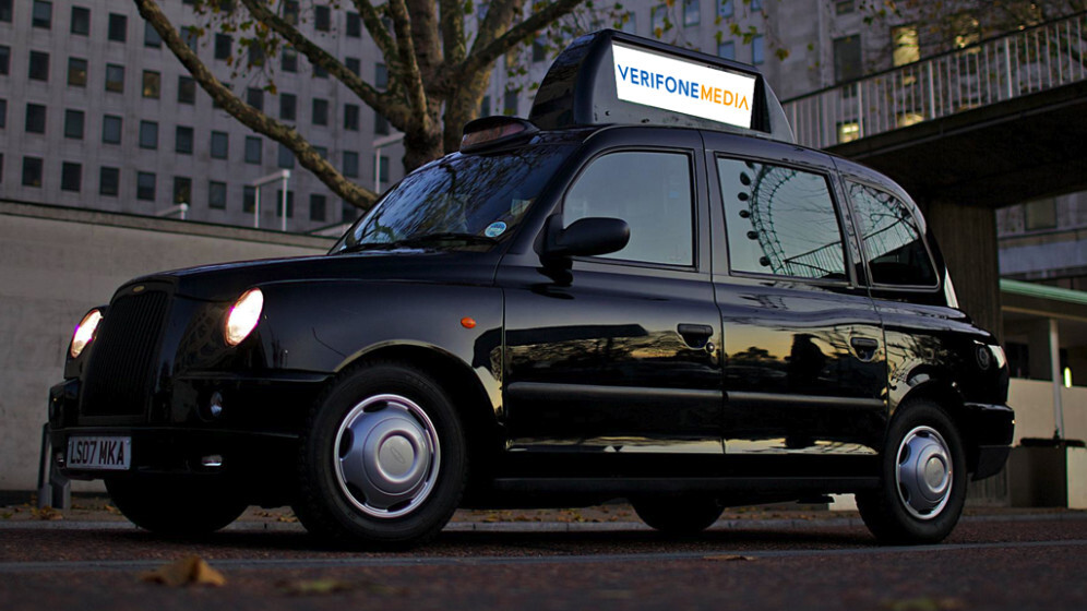 Eyetease bags Verifone deal for iTaxiTop in London, soon you'll be seeing news, ads and more on the roof of your cab