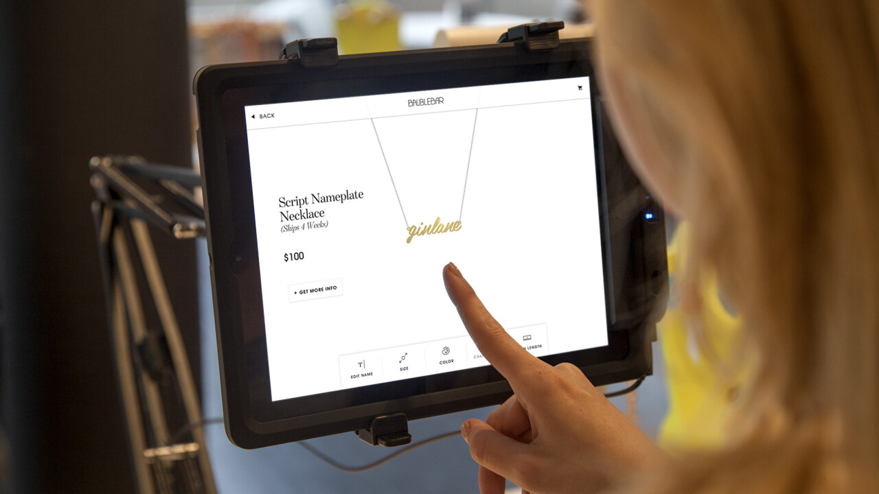 Merging the digital and physical: The challenge of integrating iPads into stores