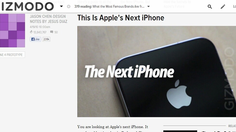 Guy who sold unreleased iPhone 4 to Gizmodo in 2010 tells of his regret in Reddit AMA