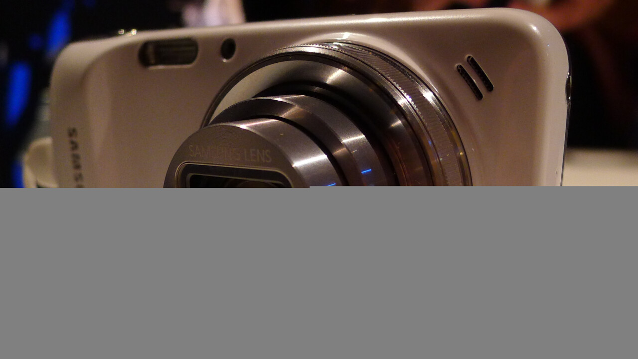 Hands-on with the Samsung Galaxy S4 Zoom, a high-end Android smartphone packing a mighty 16MP camera