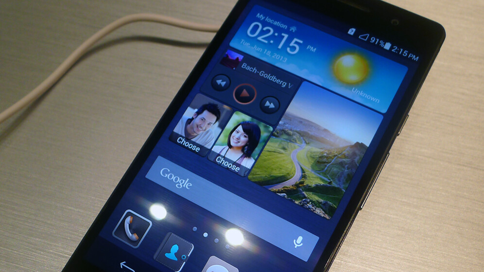 Hands-on with the Huawei Ascend P6, the world's thinnest smartphone