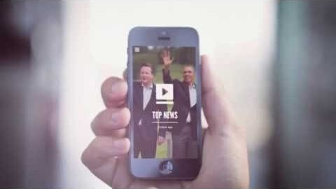 Text-to-video news app Wibbitz gets a slick redesign for iOS 7