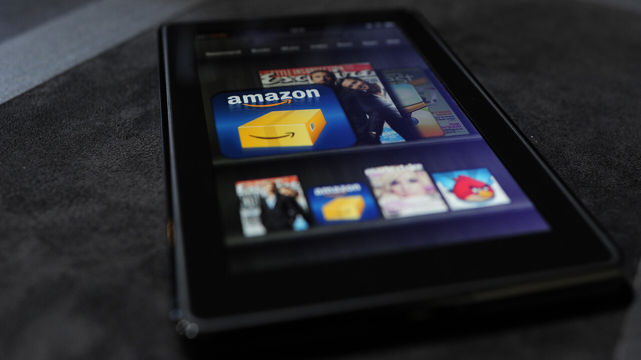 Amazon drops the price of its 16GB 7″ Kindle Fire HD tablet to £139 in the UK and €169 across Europe