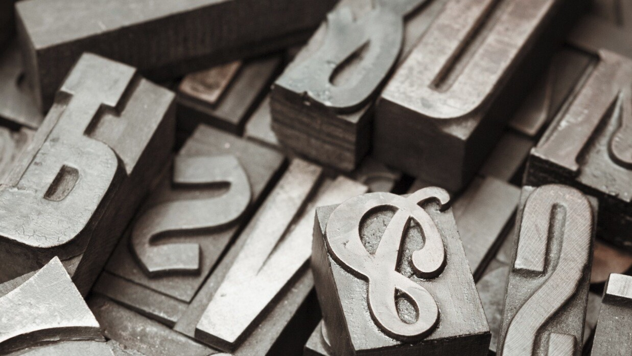 Typography in ten minutes: Five things you should know when designing with type