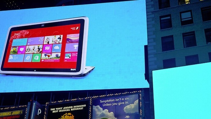 Dell admits slow tablet sales, claims potential enterprise demand for Windows 8 is 'pretty exciting'