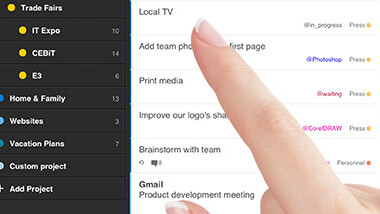Todoist takes its task-management app to tablets, and rolls out a fresh interface with new 'Inbox' feature