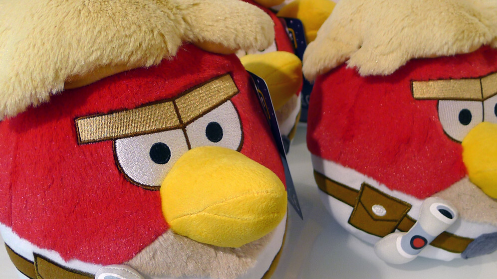 Rovio will launch Angry Birds Star Wars II on September 19 alongside TELEPODS toys for bonus content