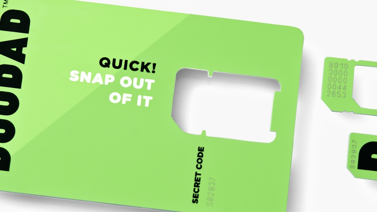 DOODAD now ships its pay-as-you-go data SIM card anywhere in the world
