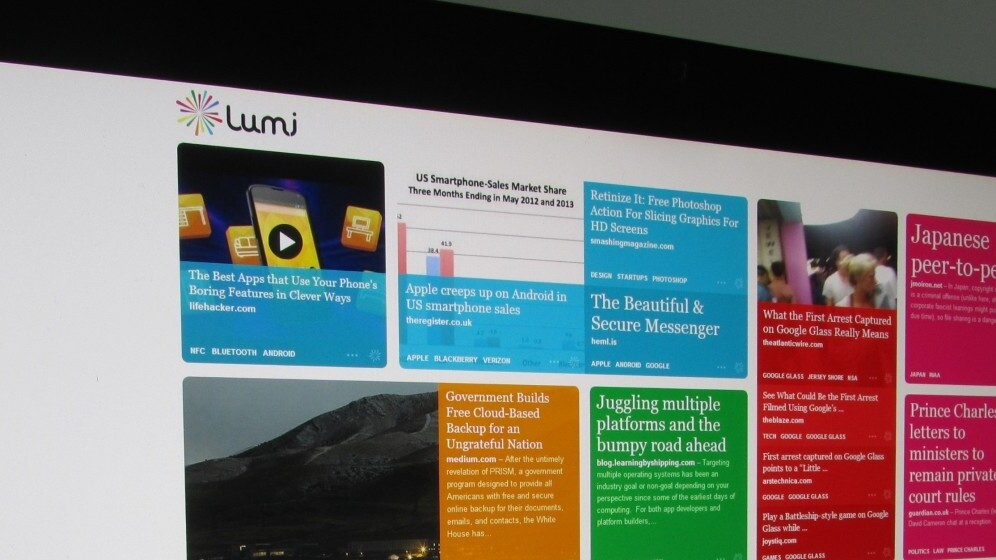 Meet Lumi, the no-effort content discovery engine from the founders of Last.fm