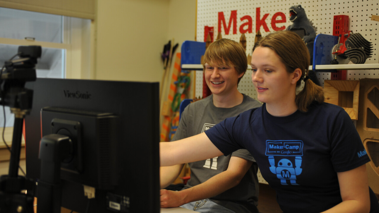 Google and Maker Faire's annual summer camp returns to promote science and creativity to teens