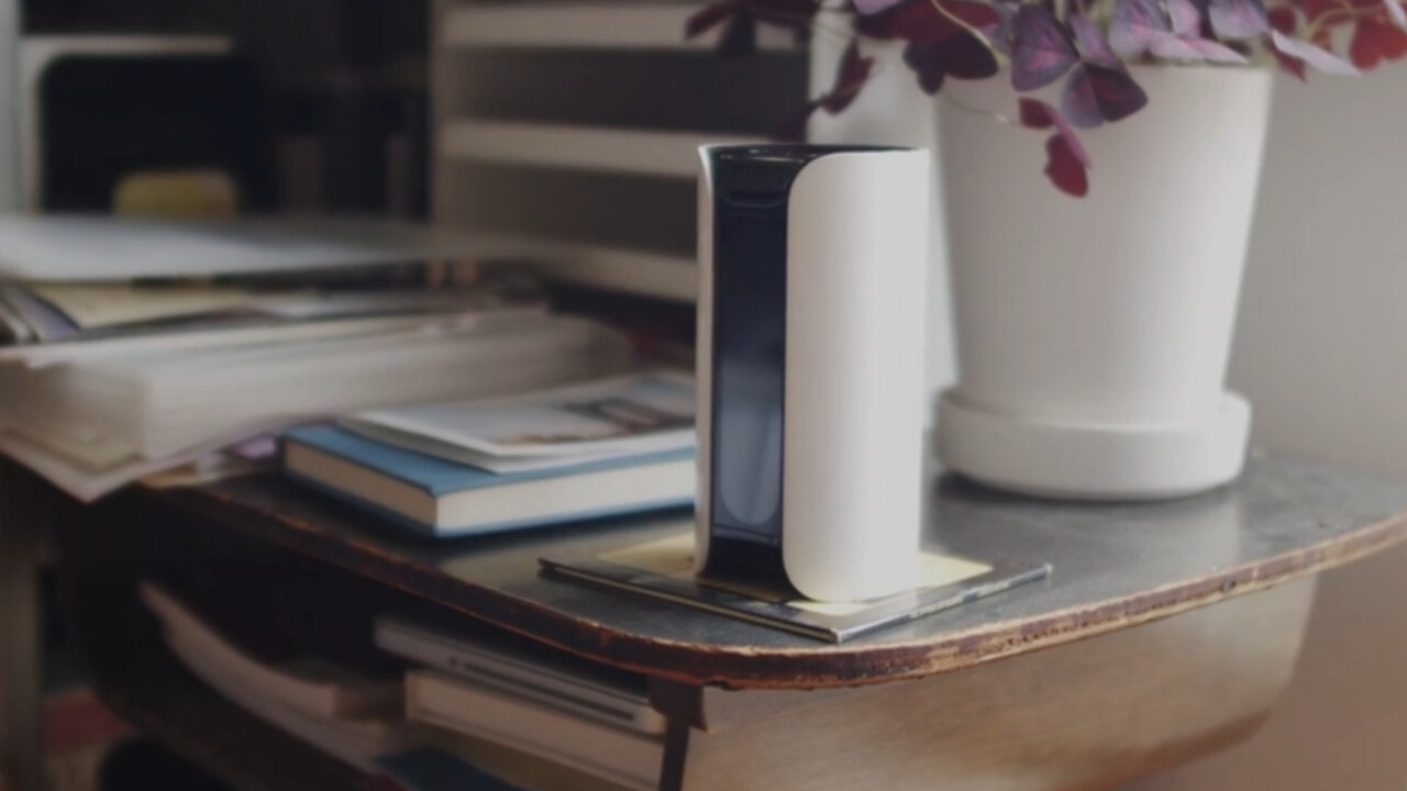 Canary's multi-sensor security hub learns about your home and alerts you whenever something is amiss