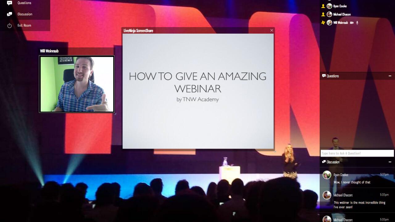TNW Academy announces its WebRTC-powered platform, built by LiveNinja