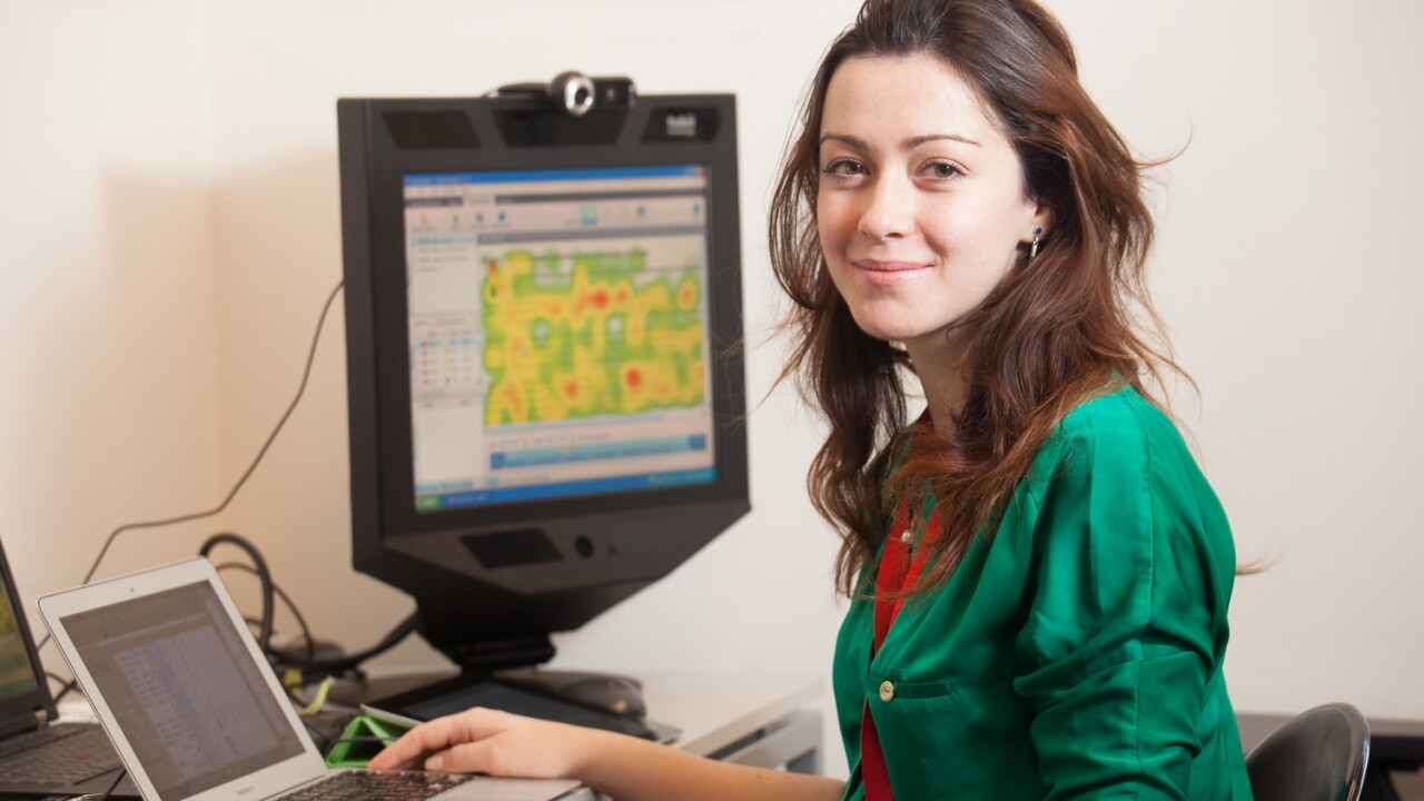 This young scientist is using technology to help dyslexics