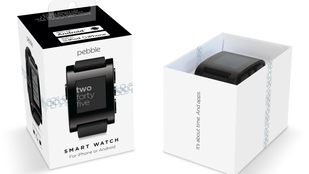 Best Buy begins selling $149 Pebble smartwatch online, retail launch coming on July 7