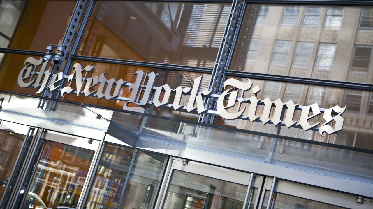 The New York Times' website and mobile apps back online after 'technical difficulties' [Update]