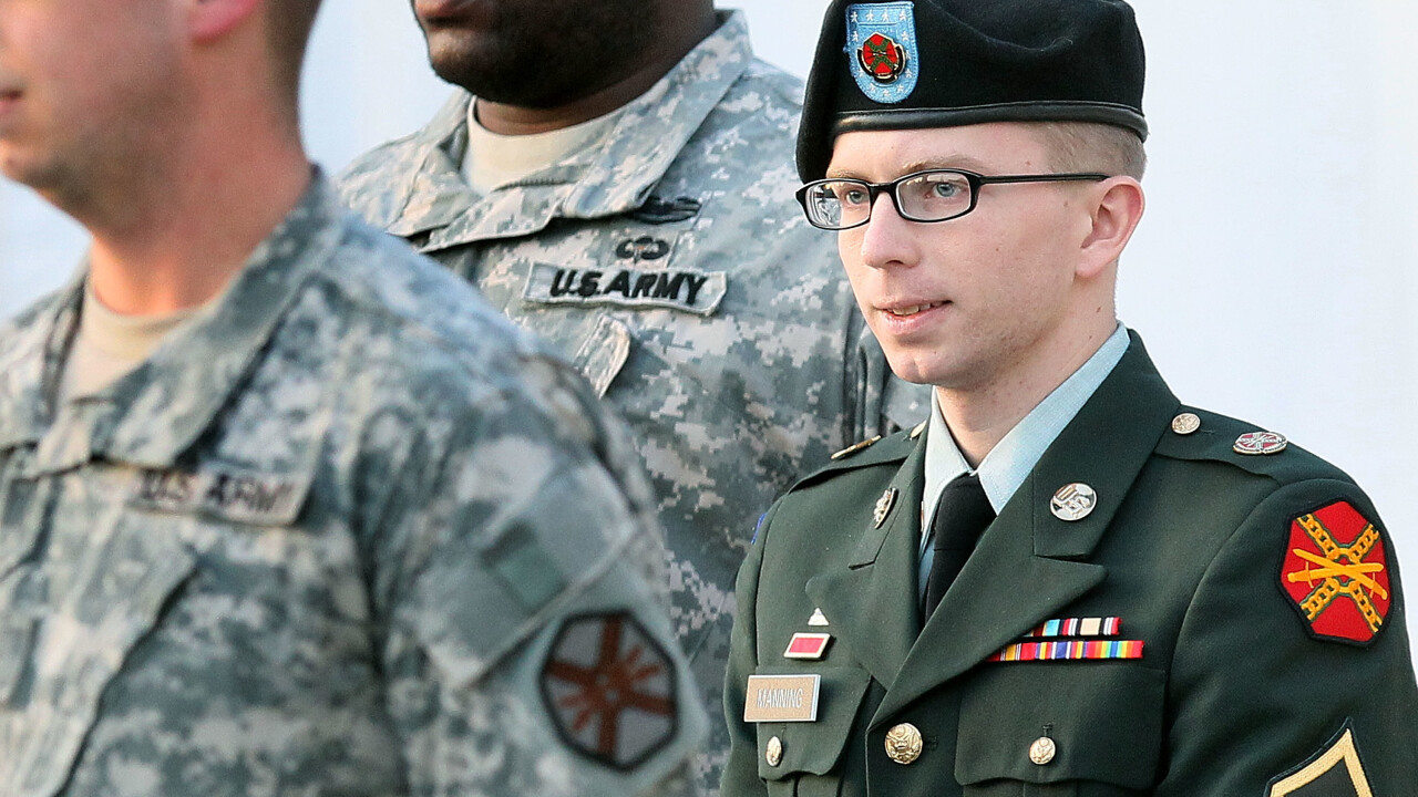 Bradley Manning sentenced to 35 years in prison after giving government documents to Wikileaks
