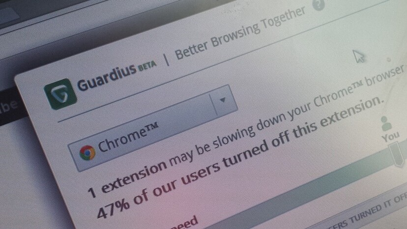 Guardius tells you which of your browser add-ons suck, by tapping the 'wisdom' of the crowd
