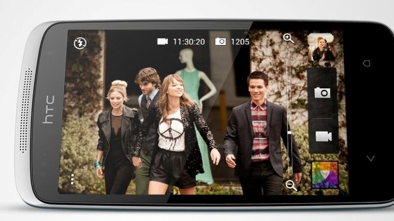 HTC's new mid-range Desire 500 smartphone will launch in the EMEA region in August