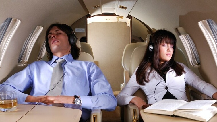 Naps on a plane: Airsleep for iPhone drowns out the noise with ambient sounds to help flyers sleep