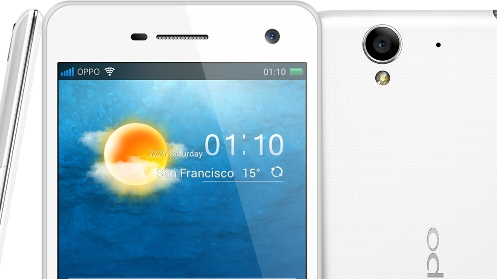 Oppo R819 launches with 4.7″ 720p display, 8MP camera and option to run stock Android 4.2.1