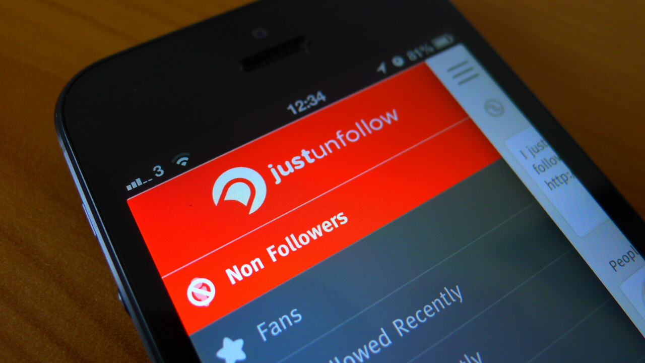 Manage your follow ratio on Twitter and Instagram with JustUnfollow's redesigned mobile apps