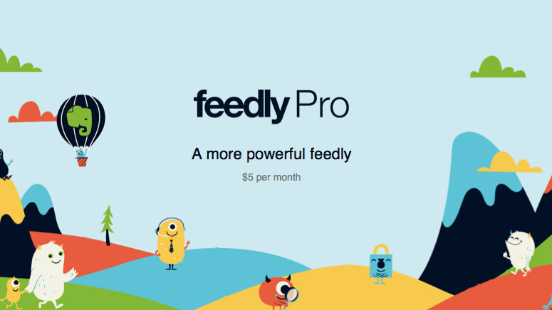 Feedly launches $5 per month Pro membership to provide enhanced security, search and more