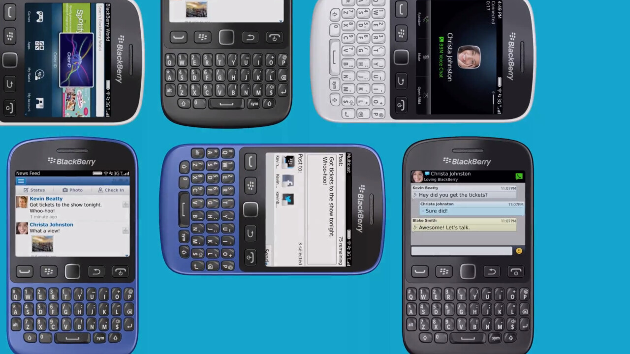 BlackBerry 9720 launched running BB7 OS, 2.8″ touchscreen, 5MP camera and dedicated BBM shortcut key