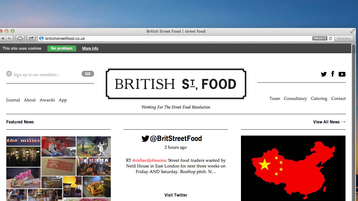 Best street food in Britain? This nifty little iPhone app helps you find it.