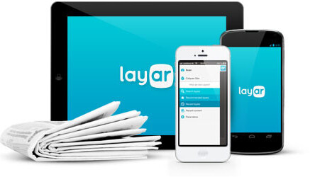 Layar augments its reality with a redesigned mobile app, website and logo
