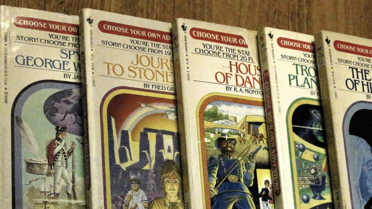 Remember 'Choose Your Own Adventure'? A Kickstarter campaign has launched to bring it to the iPad
