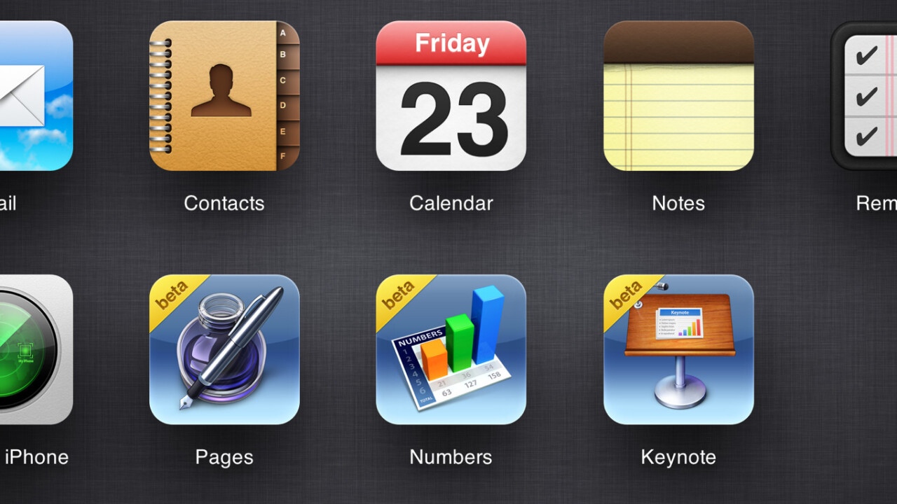 iWork for iCloud beta now open to everyone with an Apple ID
