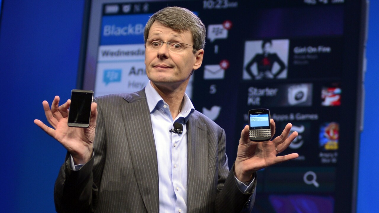 BlackBerry suitors reportedly considering breaking up the company for OS and patents