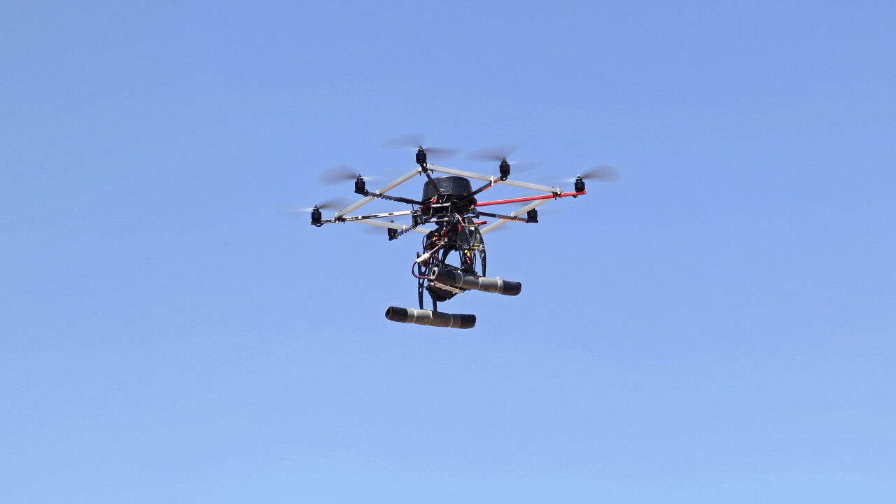 Chinese firm tests drones for express delivery service